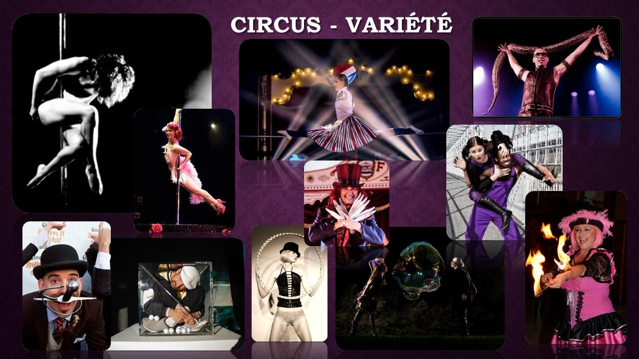 Circus Variété acts