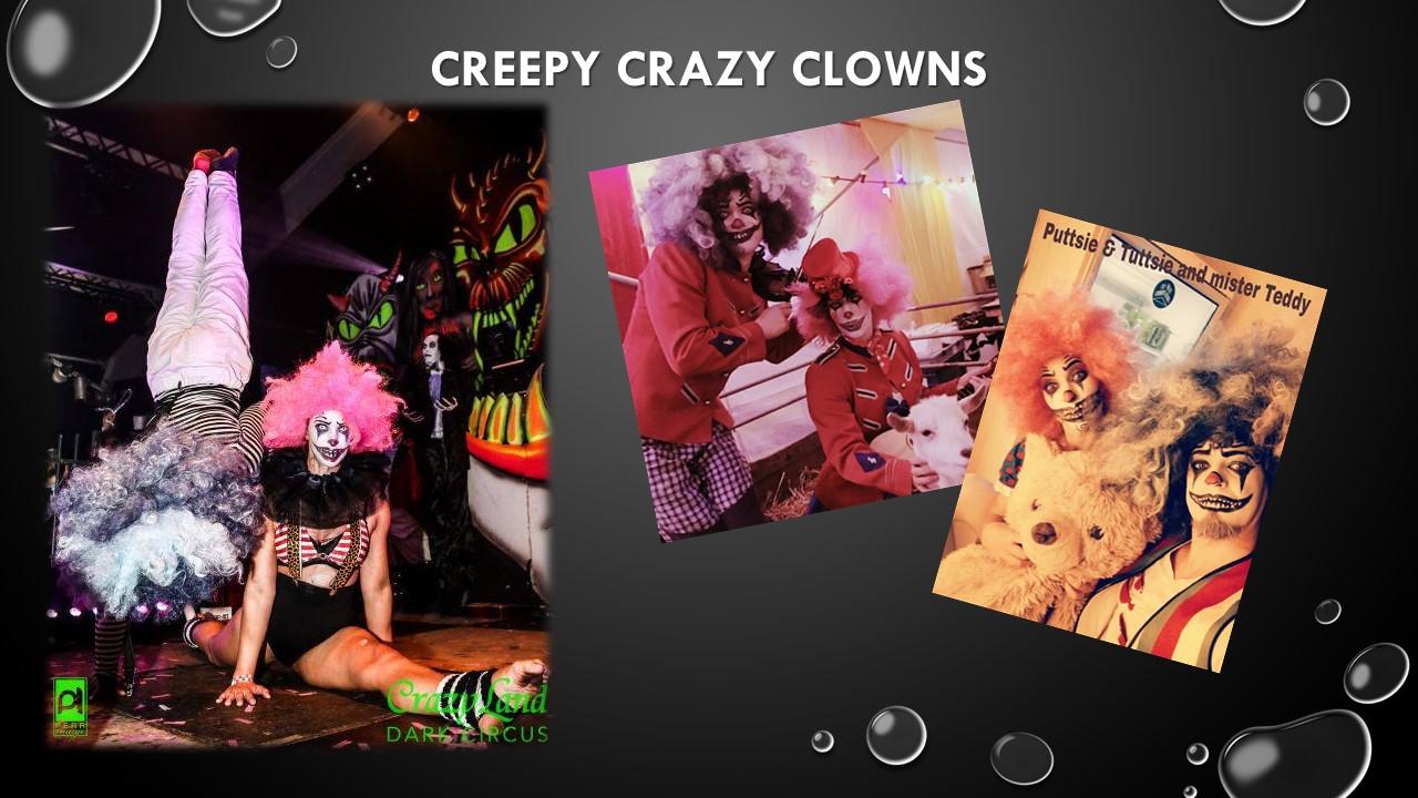 Creepy Crazy Clowns