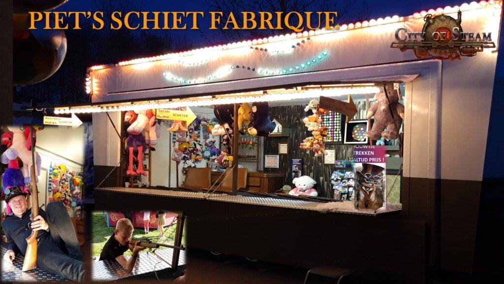 Piet's SchietFabrique – Attracties