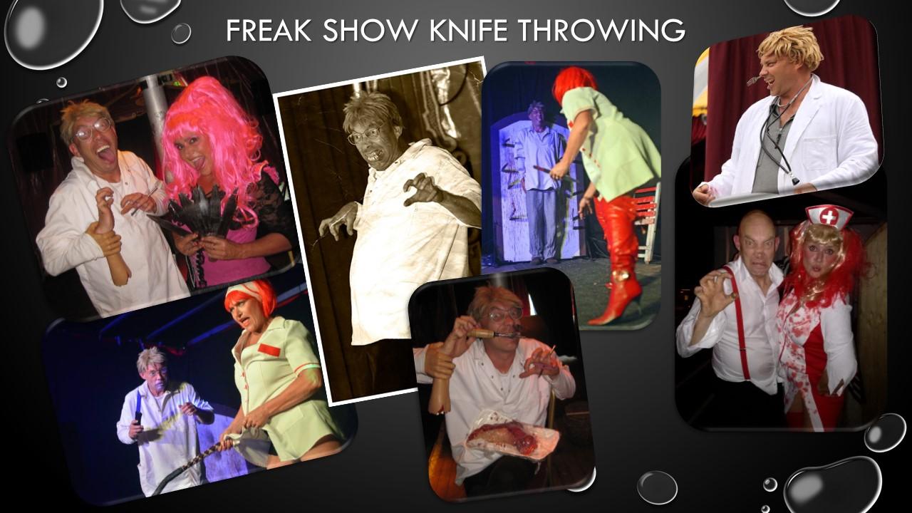 Freak Show en Halloween Entertainment