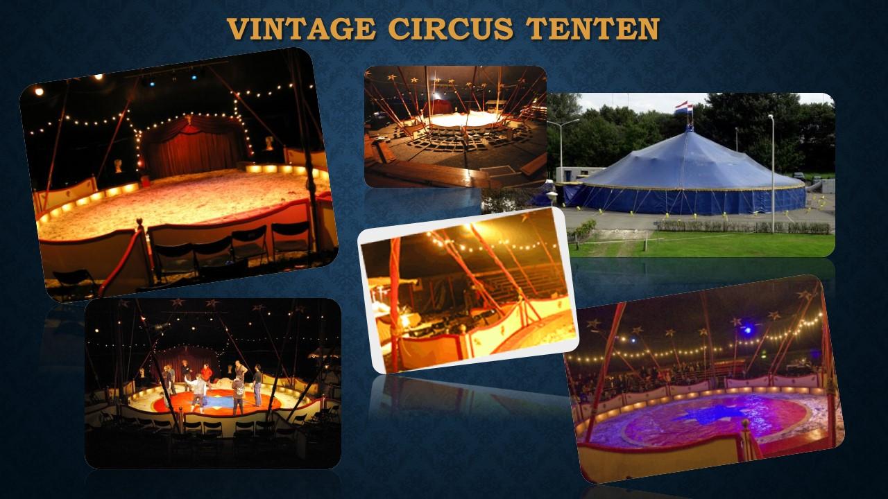 Vintage Circus Tenten