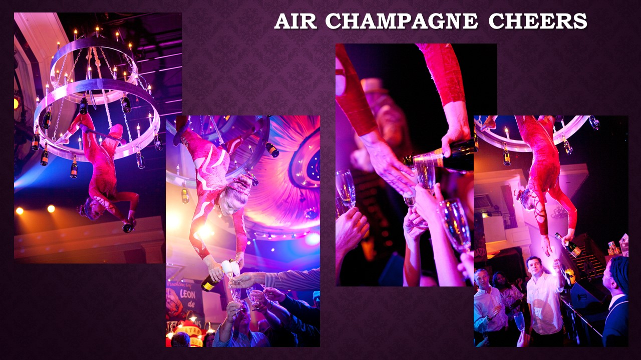 Air Champagne Cheers