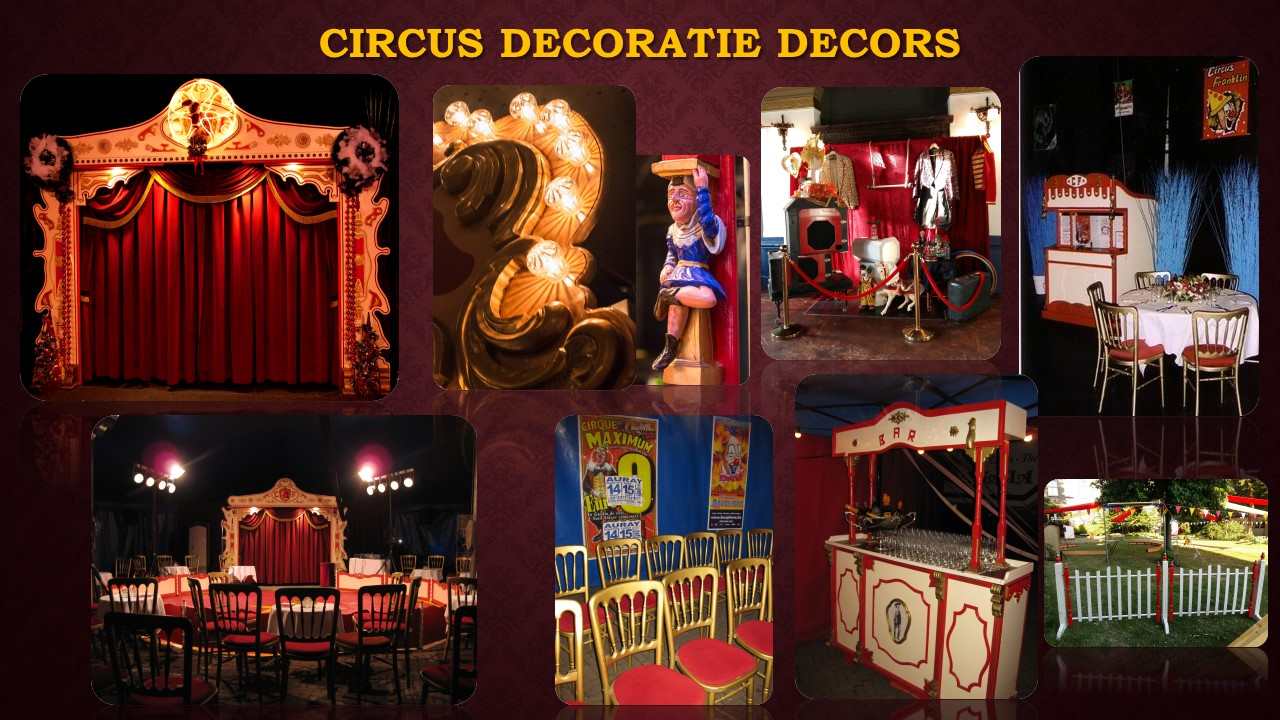 Circus Decoratie Decors
