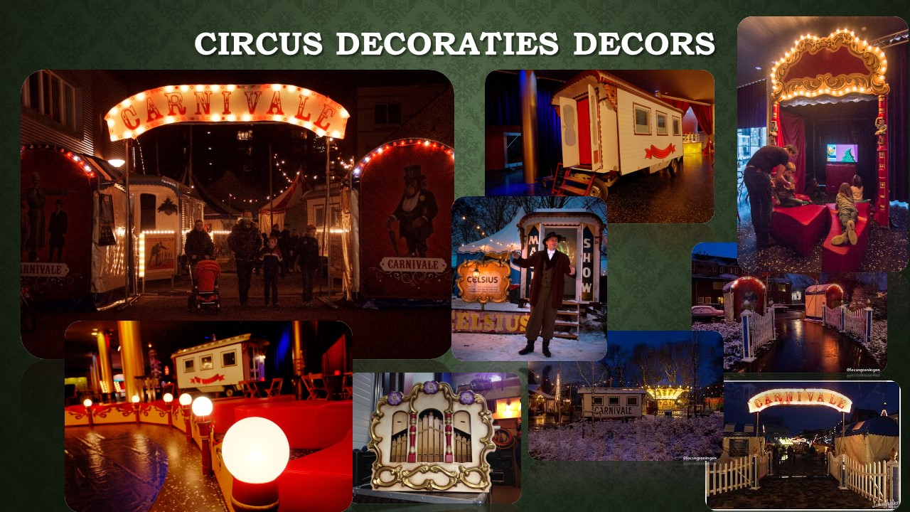 Circus Decoraties