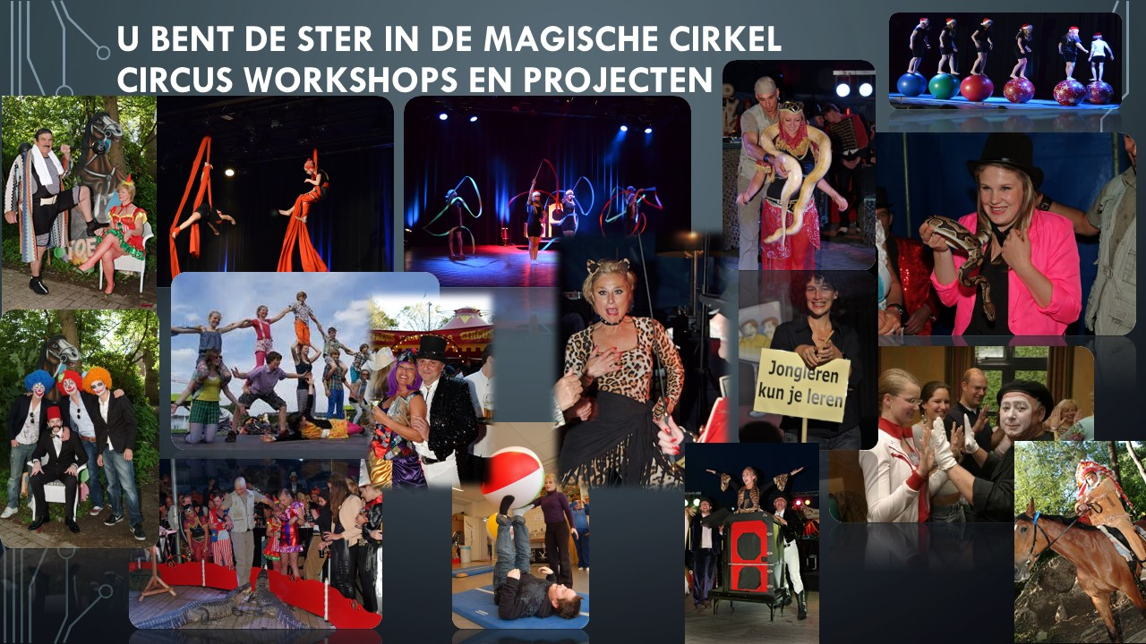 Circus Workshops en projecten volwassenen