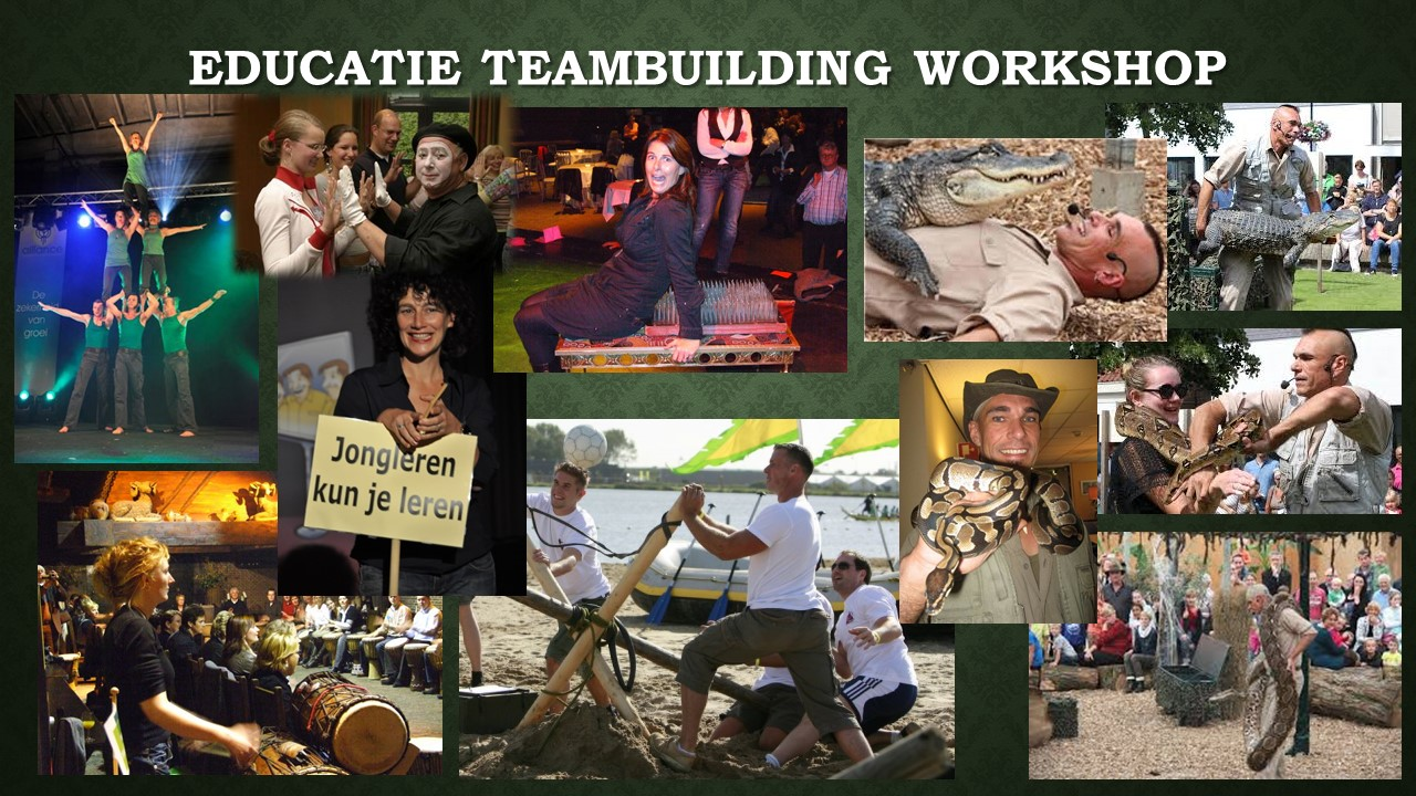 Educatie Teambuilding Workshop