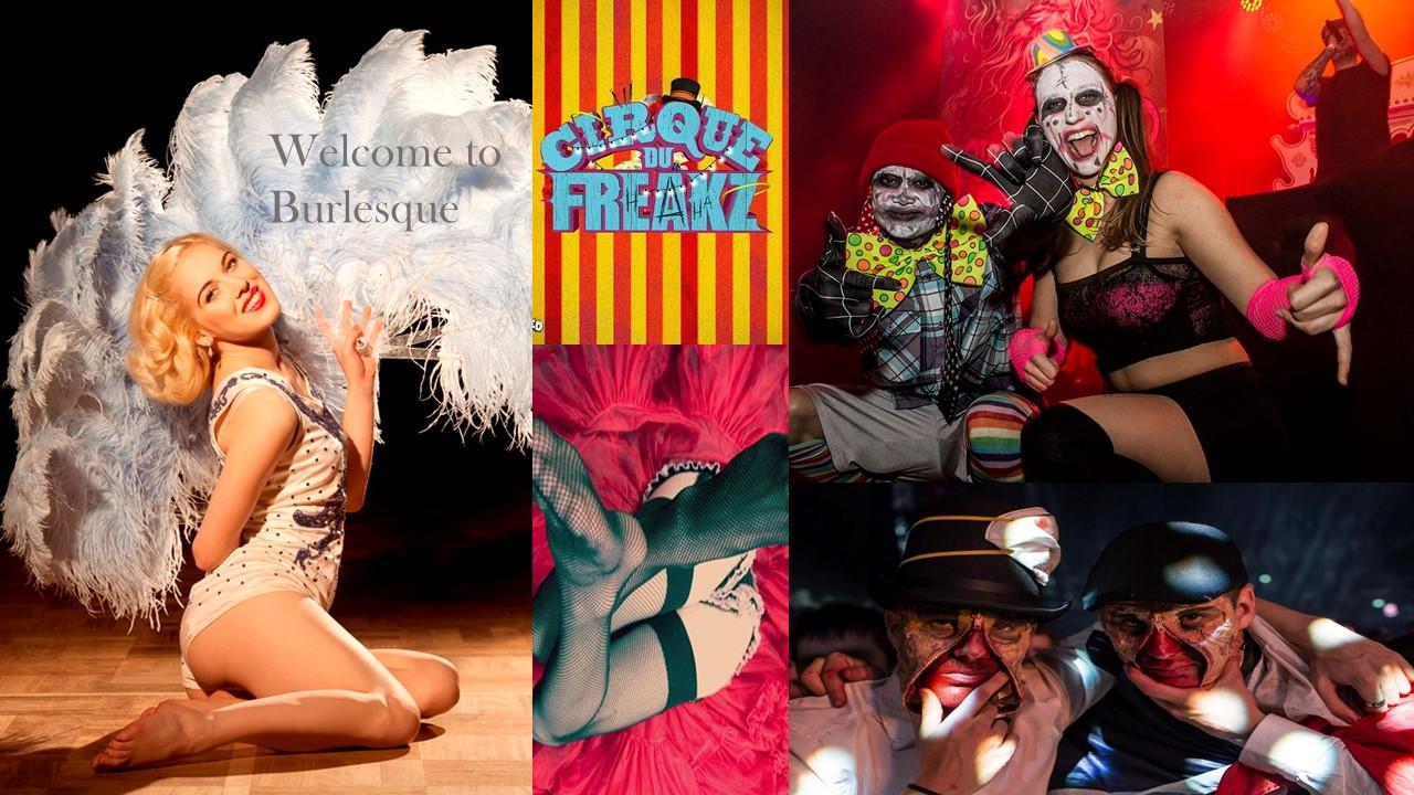burlesque carnival freaks inhuren